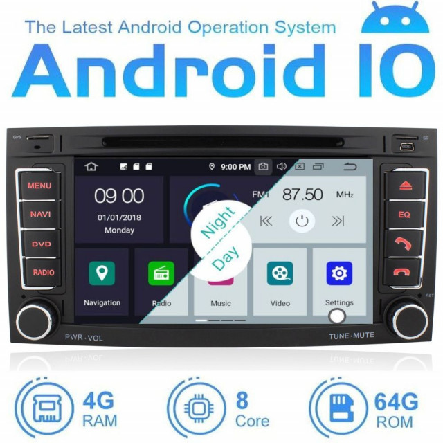 Volkswagen Touareg android 10.0 OS Multimédia