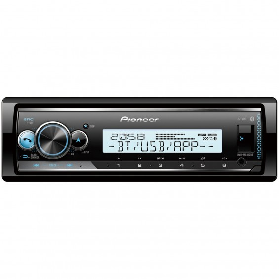 PIONEER MVH-MS510BT BLUETOOTH HAJÓSRÁDIÓ USB